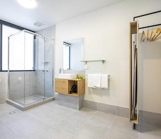 Ensuite Bathroom at Nightcap at Chardons Corner Hotel