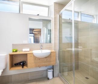 Ensuite Bathroom in Studio Family at Nightcap at Westside Hotel