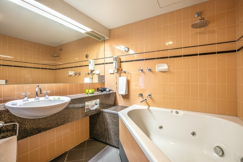 Ensuite Bathroom in Studio Spa Queen at Nightcap at York on Lilydale