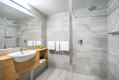 nightcap at york on lilydale mount evelyn renovated bathroom shower and sink