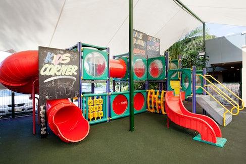 manunda accommodation kids play area  nightcap at edge hill