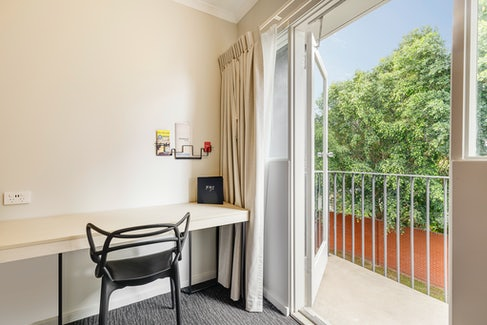 Balcony in Guestroom at Nightcap at Findon Hotel