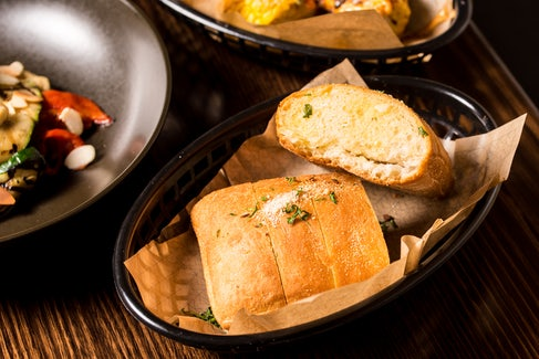 Rustic Garlic Bread at Caringbah Hotel