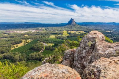 Glasshouse Mountains QLD