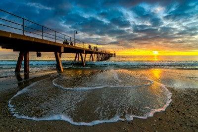 Glenelg Beach, Adelaide SA