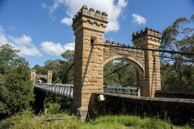 Hampden Bridge, Kangaroo Valley NSW