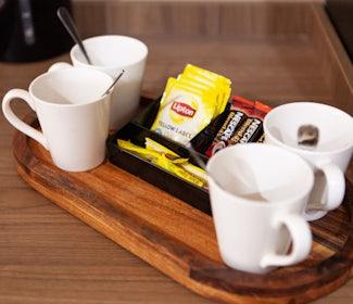 Tea/Coffe Making Facilities at Nightcap at Archer Hotel