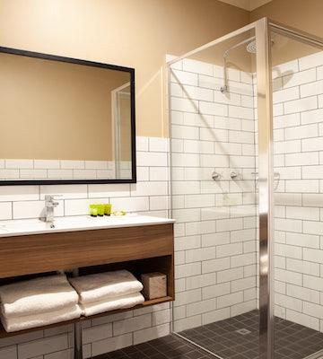 Bathroom at Nightcap at Archer Hotel