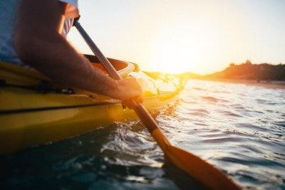 Kayaking in Narrabeen Lagoon