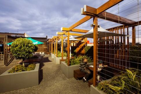 Beer Garden at Nightcap at Keysborough Hotel