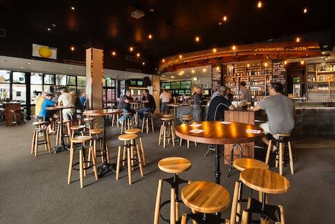 Bar at Caringbah Hotel