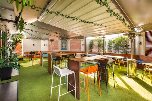 Outdoor Terrace at Caringbah Hotel