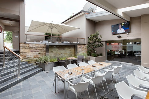 Outdoor Courtyard at Nightcap at Chester Hill Hotel
