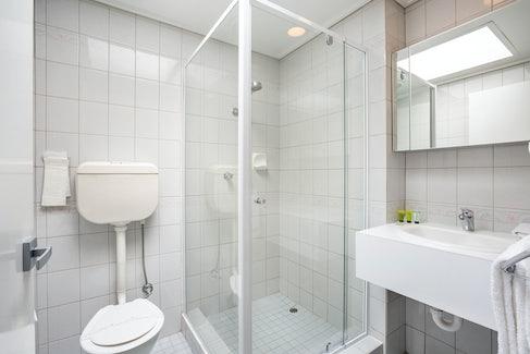 Ensuite Bathroom at Nightcap at Coolaroo Hotel