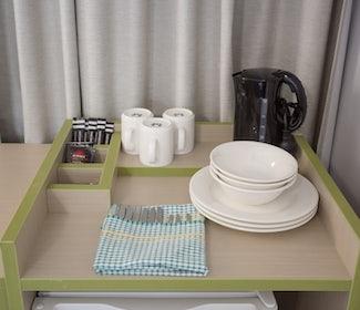 Emerald accommodation studio queen kitchenette Emerald Star Hotel Nightcap