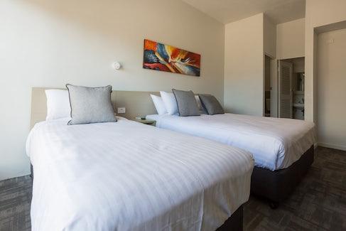 Emerald accommodation bedroom Emerald Star Hotel Nightcap